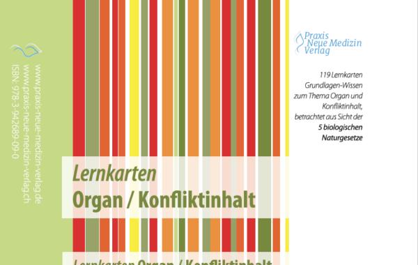 Lernkarten Organ / Konfliktinhalt