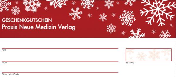 Gutschein 10 Euro (Motiv Weihnachten)