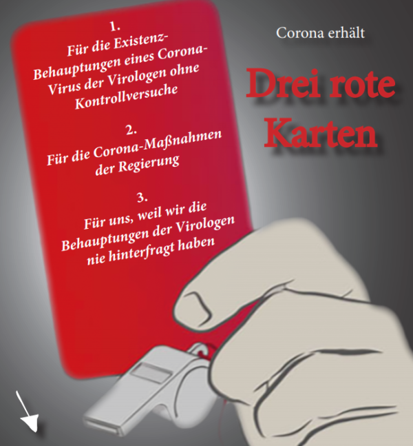 Rote Karte – Flyer